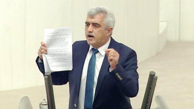 El diputado Ömer Faruk Gergerlioglu