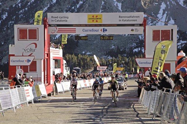Archivo - La estación de Vallter 2000 acogerá la meta de la primera edición de la marcha cicloturista la CicloVolta.