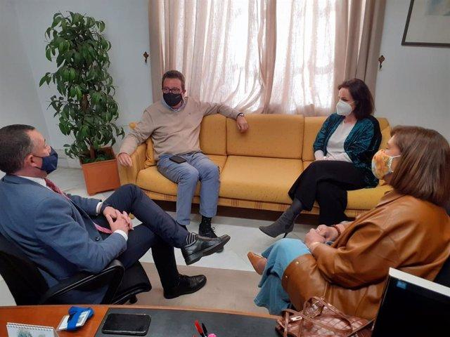"""El PP analiza con la Junta la """"hoja de ruta"""" del cierre del vertedero de Nerva (Huelva)"""