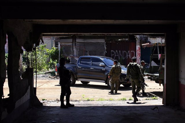 Archivo - May 23, 2019 - Marawi City, Lanao Del Sur, Philippines: View of Marawi City, in the south of the Philippines, two years after the siege of Islamic State-affiliated groups which generated an offensive military developed by the army and the police