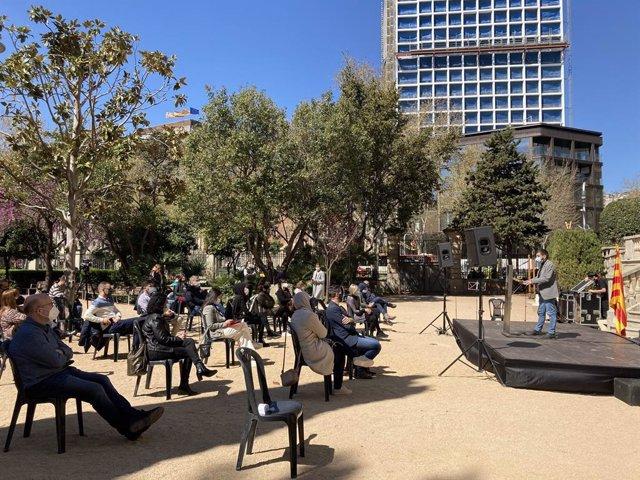 El conseller Chakir l'Homrani presideix un acte contra la discriminació racial a Barcelona