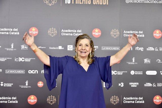 La presidenta de l'Acadèmia del Cinema Catalá, Isona Passola