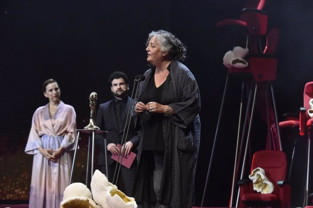 Mercè Paloma, guanyadora del Premi Gaudí al Millor Vestuari per la pel·lícula 'La Vampira de Barcelona'