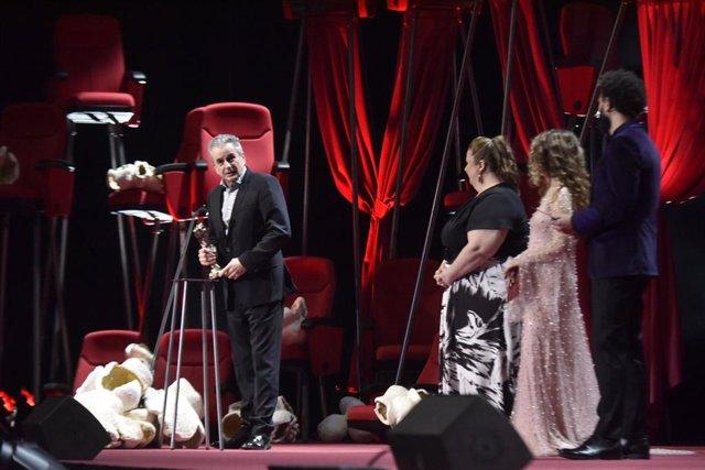 Un dels productors 'Sorry We Missed You', de Ken Loach, que ha rebut el Gaudí a Millor Pel·lícula Europea