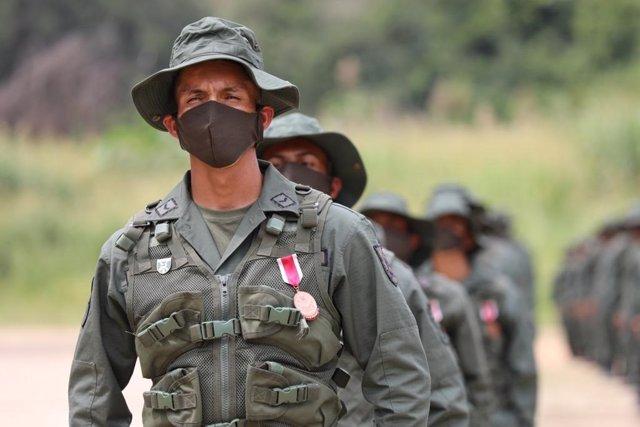 Archivo - Militares de Venezuela