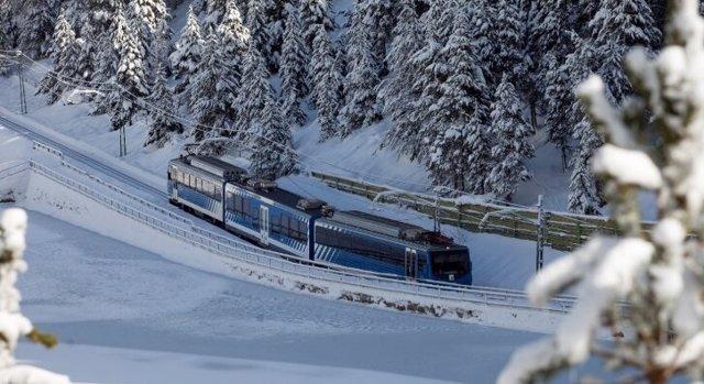El tren Cremallera de Núria.