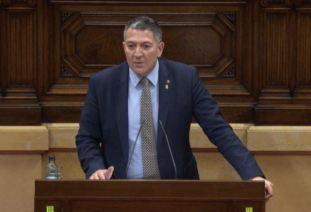 El conseller de Interior de la Generalitat, Miquel Sàmper. Imagen de archivo