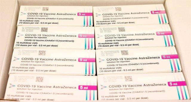 Vacuna de AstraZeneca contra la COVID-19.