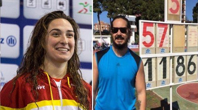 La nadadora Ariadna Edo y el atleta Álvaro del Amo consiguen la mínima B para los Juegos Paralímpicos de Tokio