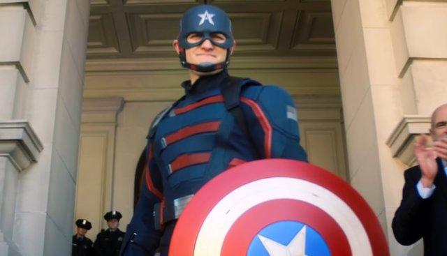 U.S. Agent, John Walker, El Nuevo Capitán América De Falcon Y El Soldado De Invierno