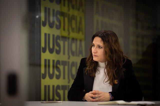 Archivo - Arxiu - La diputada electa d'ERC Laura Vilagrà a Barcelona. Catalunya (Espanya), 22 de desembre del 2020.