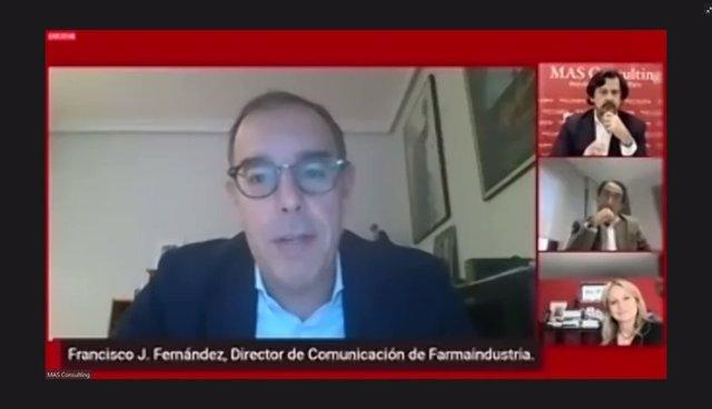 El director de Comunicación de Farmaindustria, Francisco J. Fernández.