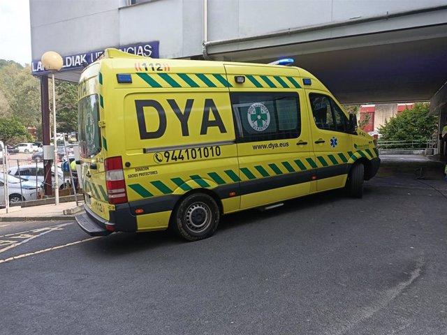 Archivo - Zona de Urgencias en el Hospital de Galdakao (Bizkaia)