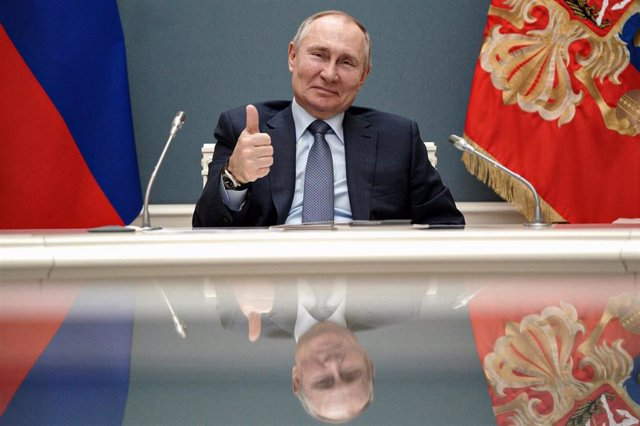 El presidente de Rusia, Vladimir Putin.