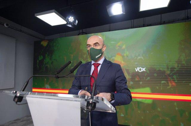 El vicepresident d'Acció Política i eurodiputat de Vox, Jorge Buxadé (Arxiu)