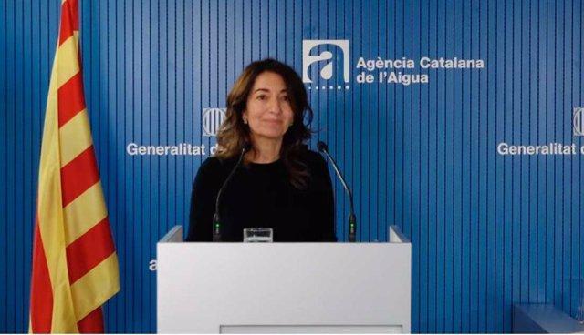 La secretària de Medi Ambient i Sostenibilitat de la Generalitat, Marta Subirà, en un acte (Arxiu)