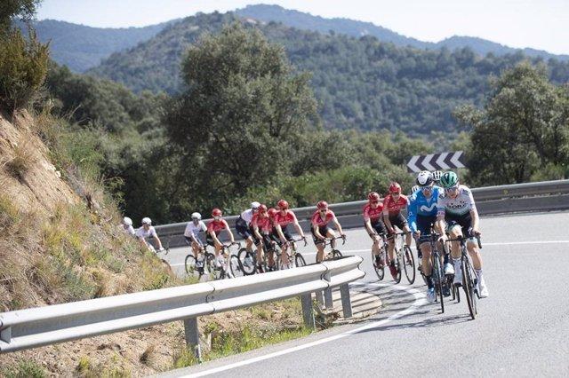 Primera etapa de la Volta Ciclista a Catalunya 2021.