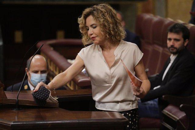 Archivo - La exdiputada de Ciudadanos en el Congreso Marta Martín.