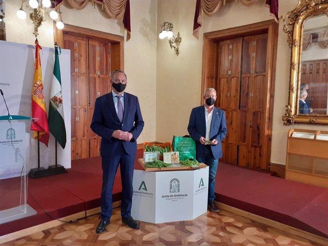 Presentación de las jornadas de presules y tirabeques en Dalías (Almería)