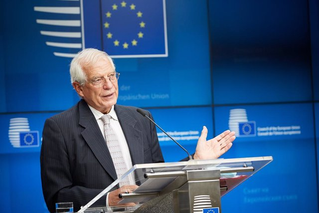 Archivo - El Alto Representante de la UE para Política Exterior de la UE, Josep Borrell