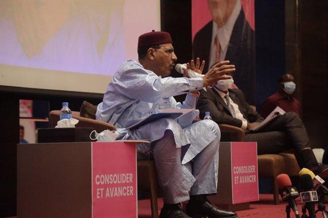 Archivo - Mohamed Bazoum, candidato a la Presidencia en Níger