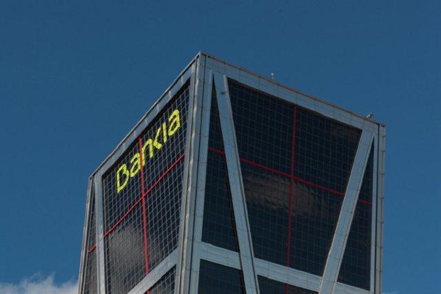 Archivo - Sede de Bankia en Madrid