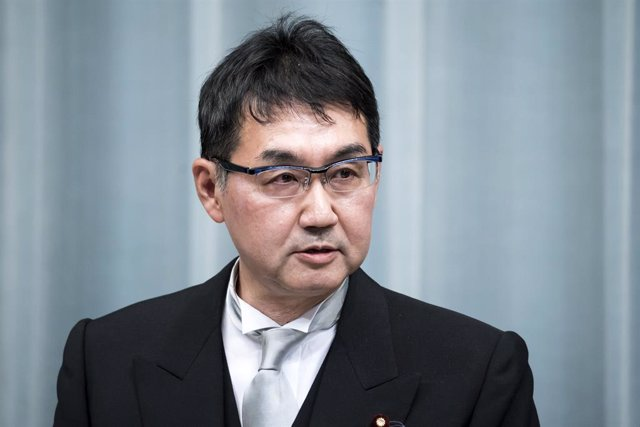 Archivo - Katsuyuki Kawai, exministro de Justicia japonés