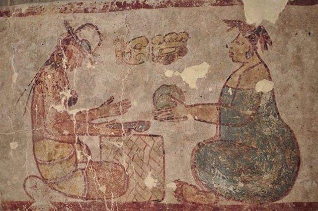 El primer registro documentado de la sal como una antigua mercancía maya en un mercado.