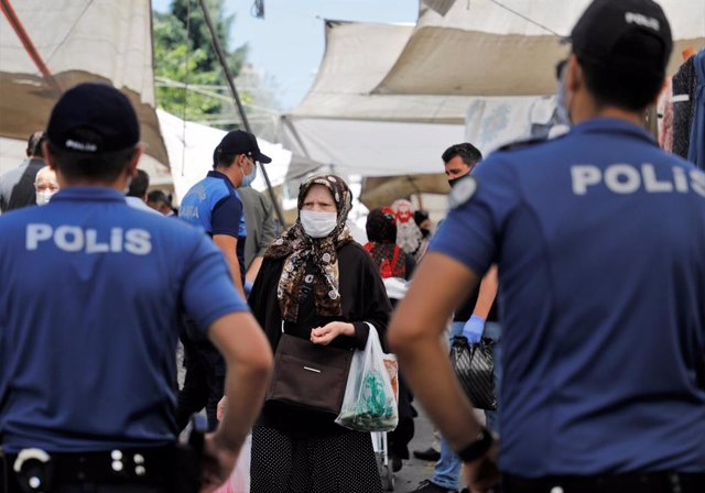 Archivo - Policía de Turquía