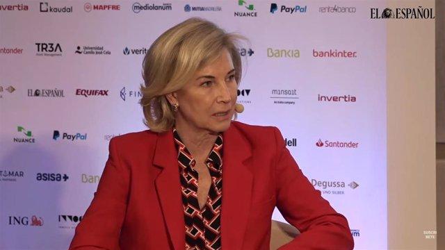 CEO de Bankinter, María Dolores Dancaua 'I Simposio del Observatorio de la Finanzas' organizado por El Español e Invertia