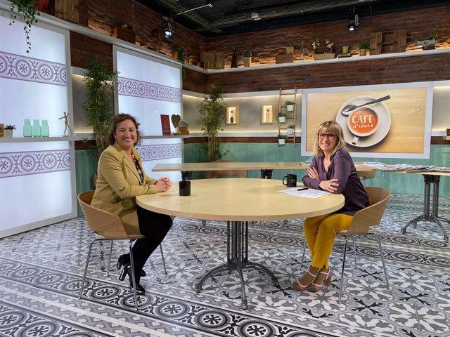 Alícia Romero (PSC) a 'Cafè d'Idees' de la2 i Ràdio 4.