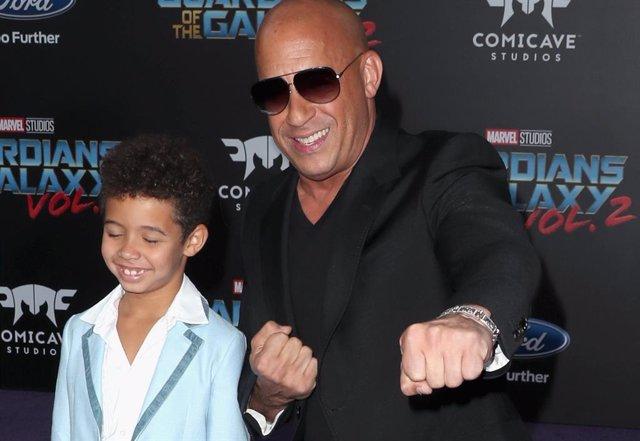 Archivo - Vincent Sinclair, el hijo de Vin Diesel ficha por Fast And Furious 9 como el joven Dominic Toretto