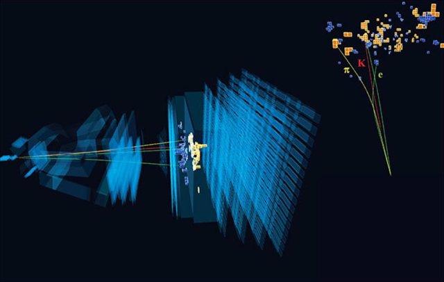 Deterioro muy raro de un mesón que involucra un electrón y un positrón observado en LHCb