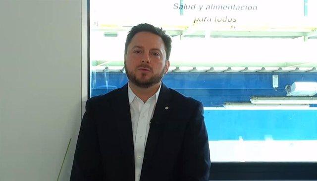 El CEO de l'empresa a Espanya i Portugal, Bernardo Kanahuati, durant la roda de premsa.
