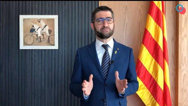Archivo - Arxiu - El conseller de Polítiques Digitals Jordi Puigneró