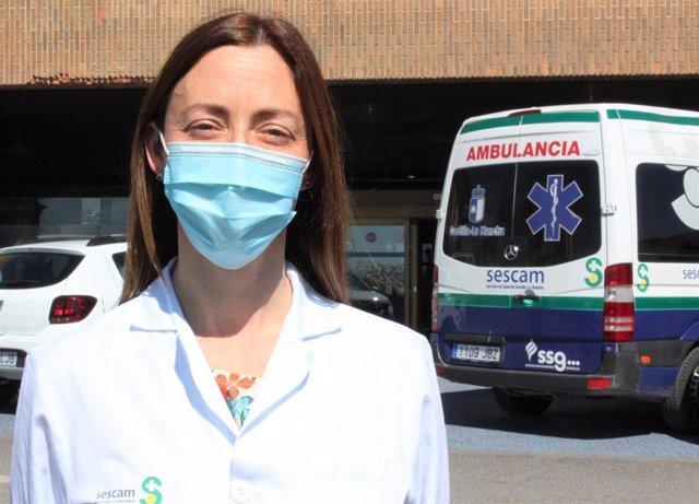 Ana Valladolid, Farmacéutica Especialista en Farmacia Hospitalaria y miembro del Comité Científico del 25 Congreso de la EAHP