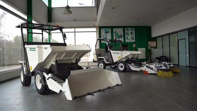 Vehículos de la empresa Piquersa Maquinaria