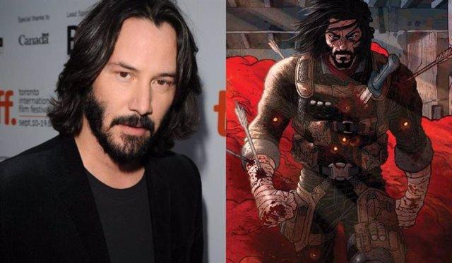 Keanu Reeves protagonizará y pondrá voz a las adaptaciones de su cómic para Netflix