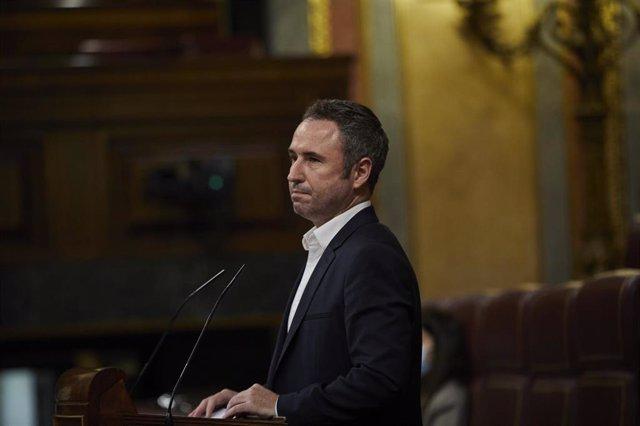 El diputado de Ciudadanos Guillermo Díaz, portavoz en la Comisión de Sanidad del Congreso de los Diputados.