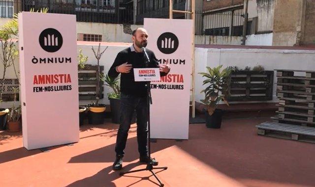 El vicepresident d'Òmnium Cultural, Marcel Mauri.