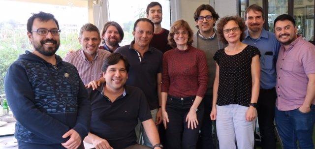 El equipo de ArtEmpire en la Universidad Pablo de Olavide