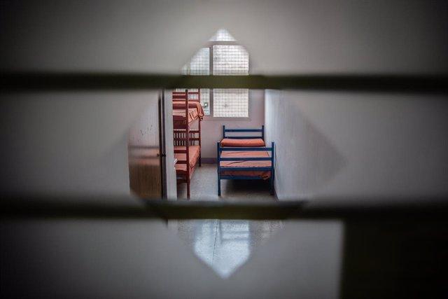 Archivo - Arxiu - Una de les cel·les del Centre Penitenciari de Dones de Barcelona Wad-Ras.