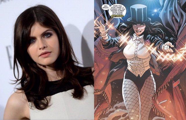 Habrá película de Zatanna y los fans de DC piden a Alexandra Daddario sea la protagonista