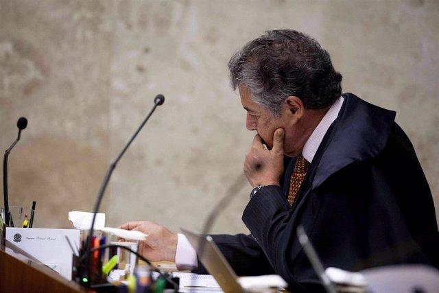El juez del Tribunal Supremo de Brasil, Marco Aurélio de Mello.