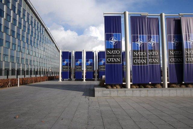 Archivo - Sede de la OTAN en Bruselas