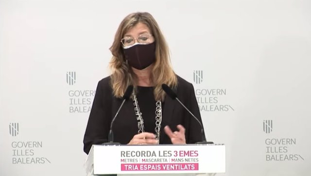 La consellera de Salud y Consumo, Patricia Gómez en rueda de prensa.