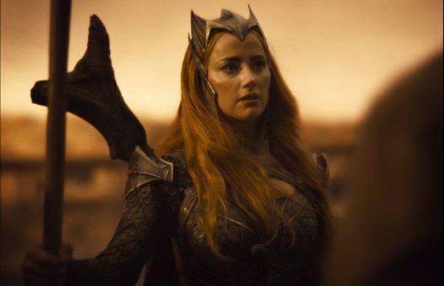 """El acento de Amber Heard (Mera) en el Snyder Cut desquicia a los fans: """"Es como si te golpeara un ladrillo"""""""