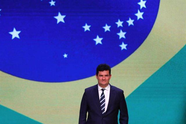Archivo - El exministro de Justicia de Brasil, Sergio Moro.