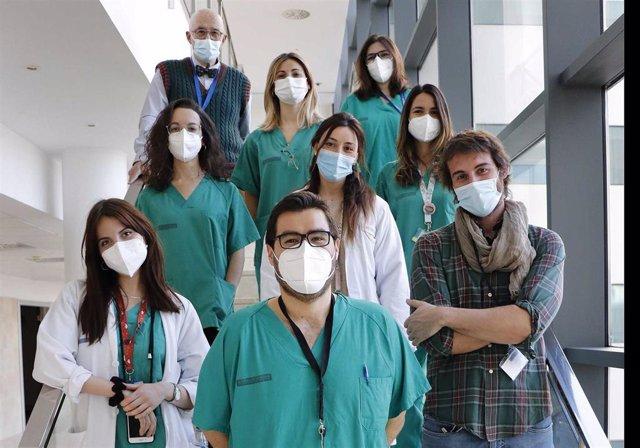 Profesionales del servicio de Obstetricia del Hospital Universitari i Politècnic La Fe