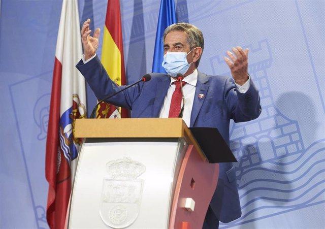 Archivo - El presidente de Cantabria, Miguel Ángel Revilla.- Archivo
